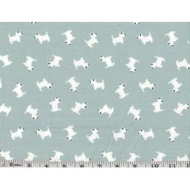 Printed cotton Spandex 6801-9