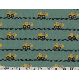 Coton Spandex Imprimé 6801-37
