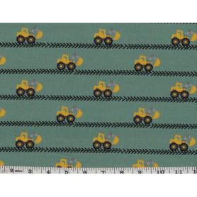 Printed cotton Spandex 6801-37