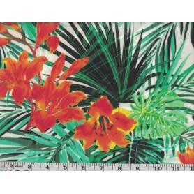 Chiffon Floral -1