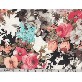 Chiffon Floral -3