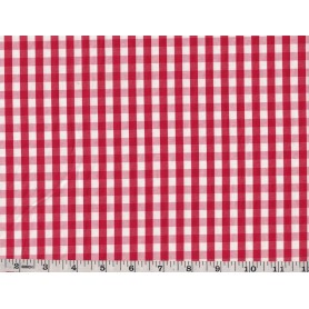 Yarn Dyed Check Poly Cotton -2