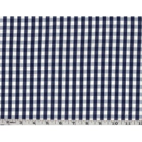 Yarn Dyed Check Poly Cotton -4