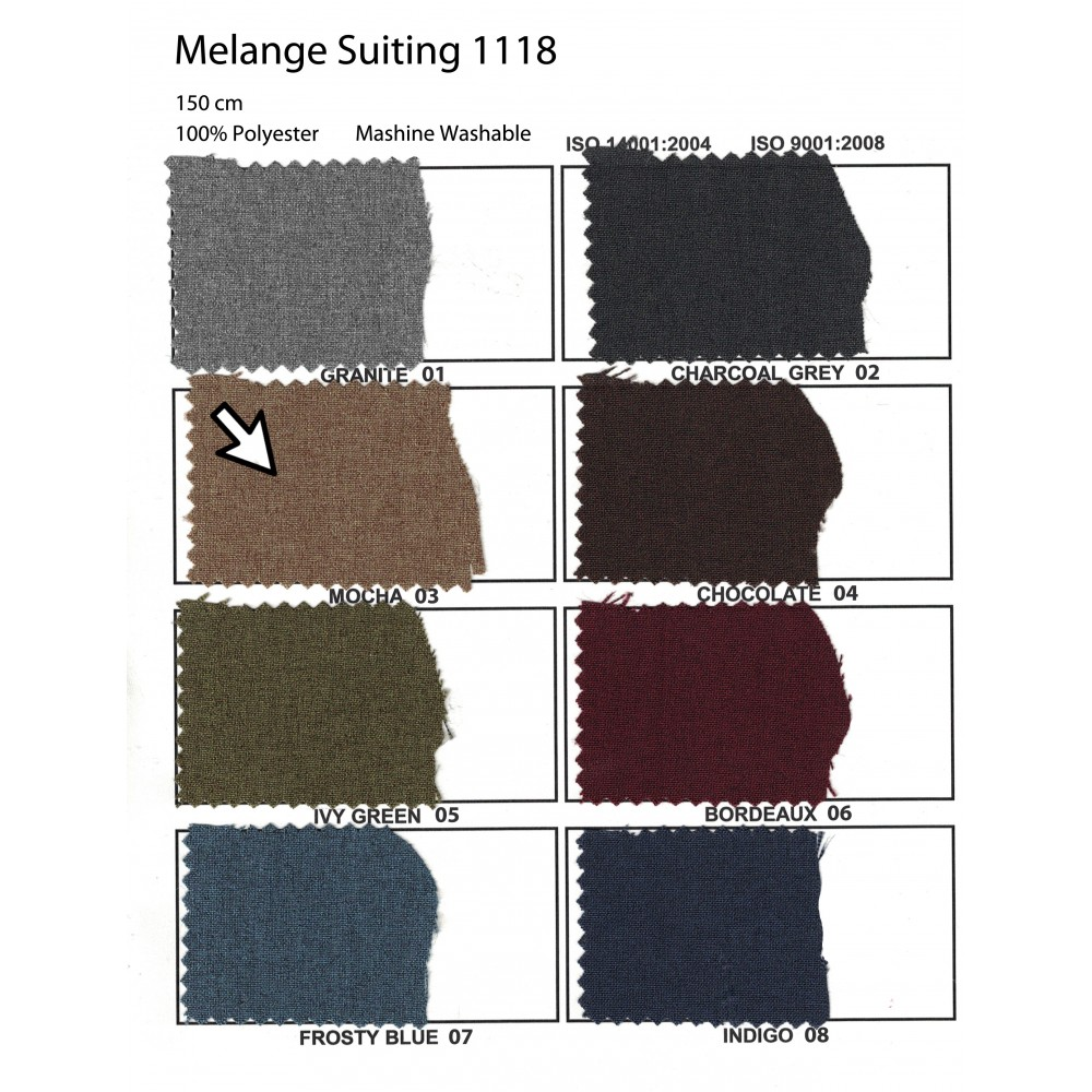 Melange Suiting 1118