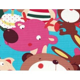 Canvas de Coton Imprimé 1093-3