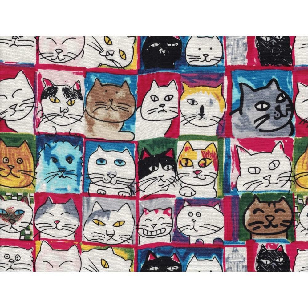 Canvas de Coton Imprimé 1093-7