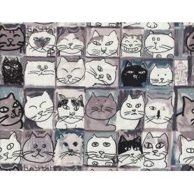 Canvas de Coton Imprimé 1093-8