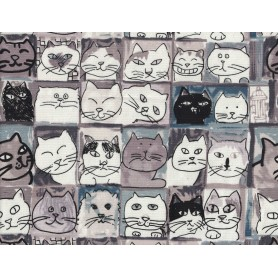 Printed Cotton Canvas 1093-8