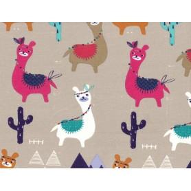 Printed Cotton Lycra Stof 5503-14