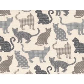 Printed Cotton Lycra Stof 5503-23