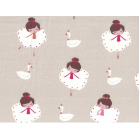 Printed Cotton Lycra Stof 5503-36