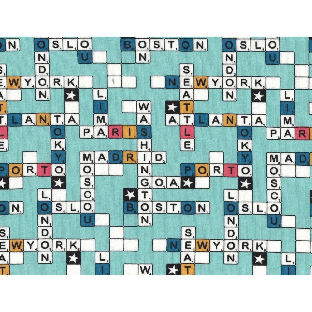 Coton Lycra Imprimé Stof 5557-6