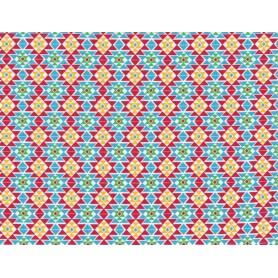 Printed Cotton Lycra Stof 5557-8