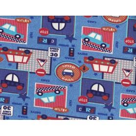 Coton Lycra Imprimé Stof 5557-18