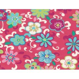 Printed Cotton Lycra Stof 5557-22