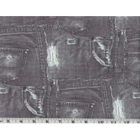 Recycled Poly-Spandex Print 3017-7