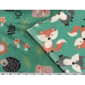 Whisper Fleece Print 2-Sided 4003-3