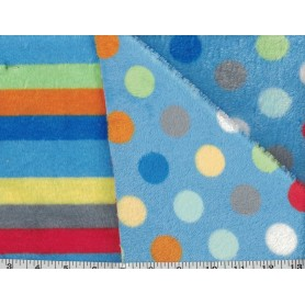 Whisper Fleece Print 2-Sided 4003-7