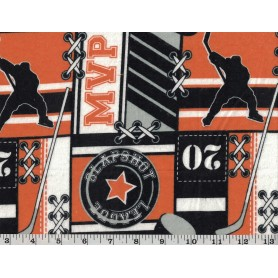 Printed Flannel 2318-27