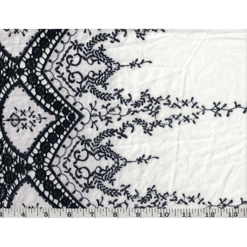 Embroidered Lace 10140-1
