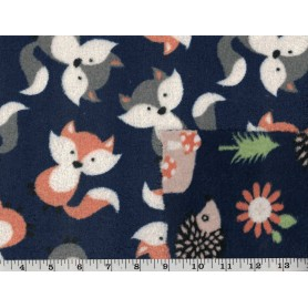 Whisper Fleece Print 2-Sided 4003-8