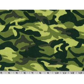 Printed Knit Camouflage 6905-1