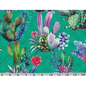 Printed Cotton Canvas Stof 5545-1