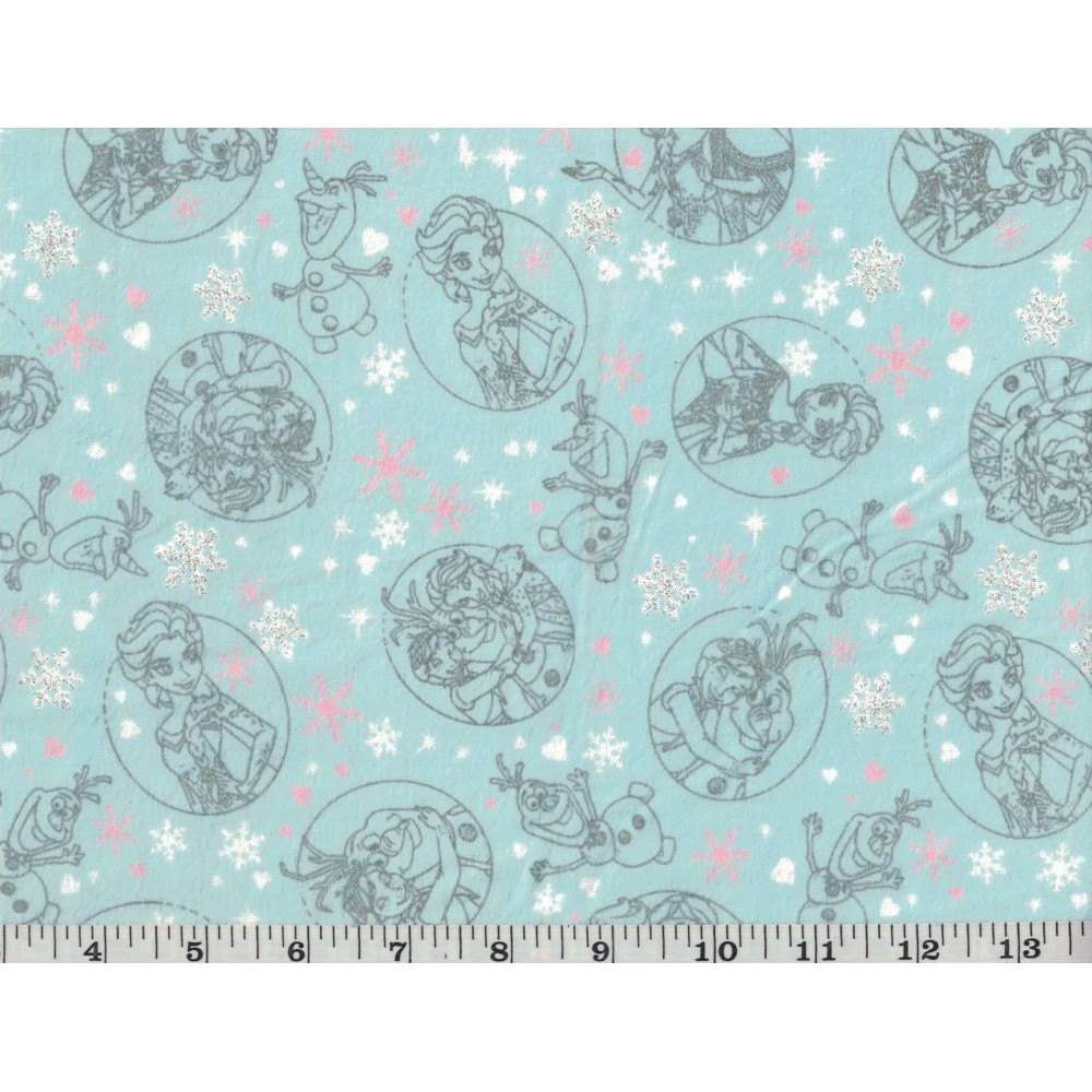 Printed Flannel 7004-142