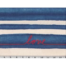 Coton de Canvas Imprimé 7502-1