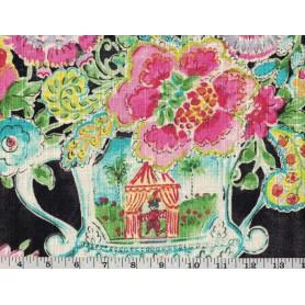Printed Linen Look 7514-1