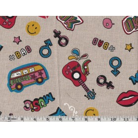 Printed Canvas BB 5203-6